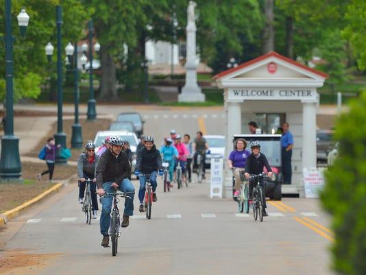 Ole Miss Bike campus