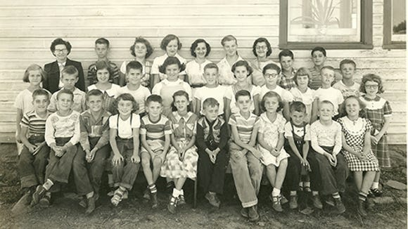 Here's another Chanceford Township school, Weiser's one-room School, 1952-53.