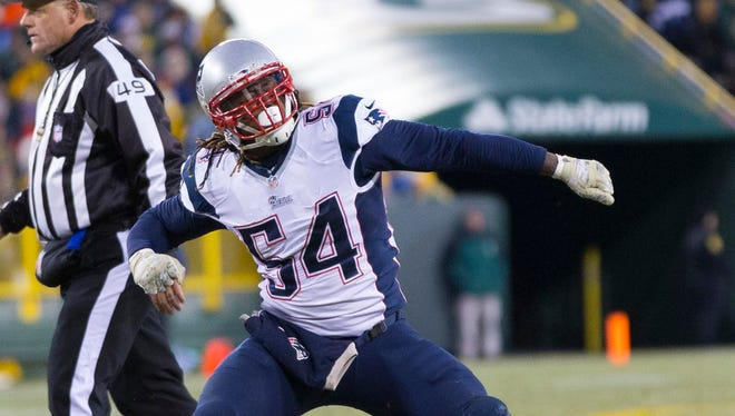 LB Dont'a Hightower is entering his sixth NFL season.