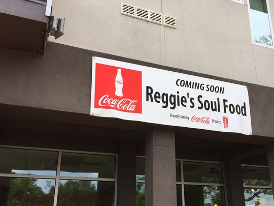 The future location of Reggie's Soul Food is shown. It will be located in the former Acadiana Grilled Cheese.