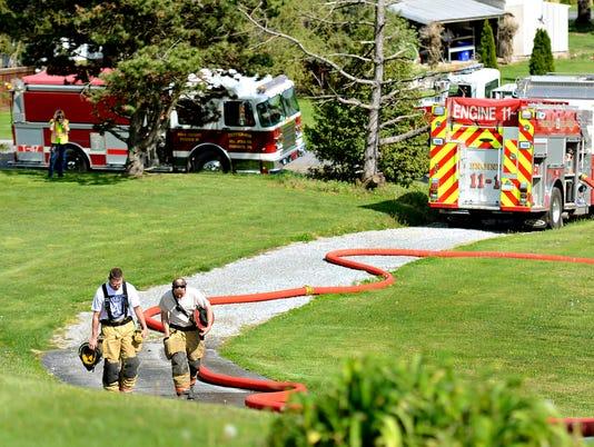 Pigeon Hill Road fire