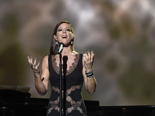 Sarah McLachlan performs at the CMA Country Christmas