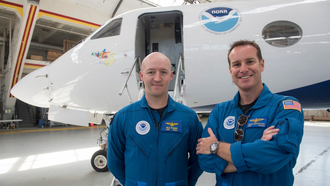 Meet the hurricane hunters, whose harrowing flights are all in a day's work