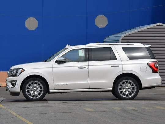 The 2018 Ford Expedition won the J.D. Power award for