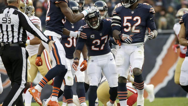 Chicago Bears cornerback Sherrick McManis is entering his ninth season with the Bears and 11th overall in the NFL.