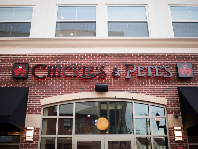 The new Chickie's & Pete's location in Glassboro.