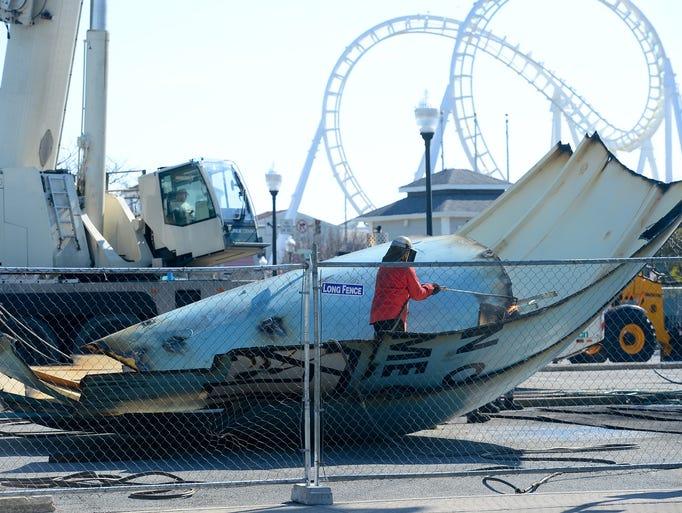 Water Tower Demolition : Photos worcester street water tower demolition in ocean city