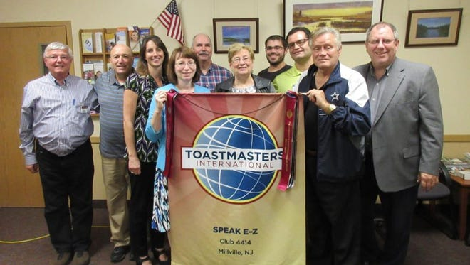 Toastmasters-Speak E-Z in Millville will host a reunion/open house at 7 p.m. Sept. 20 at 1700 N. 10th St. All current, past and prospective members are invited to attend. The event will feature refreshments, table topics, fellowship and information about the new Pathways Program Toastmasters International. For information, call Richard Kretschmer at (856) 430-5250, email richard.kretschmer@gmail.com or visit speakez.toastmastersclubs.org.