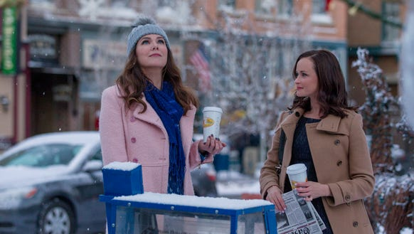 'Gilmore Girls' usually as white as snow...