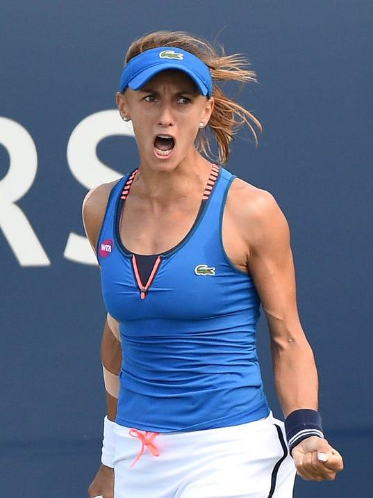 Qualifier Lesia Tsurenko upsets Wimbledon finalist Garbine ...