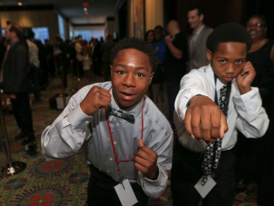 Young boxers and brothers Demetrius and Demontaze Duncan