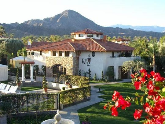 The Well Spa building at Miramonte.