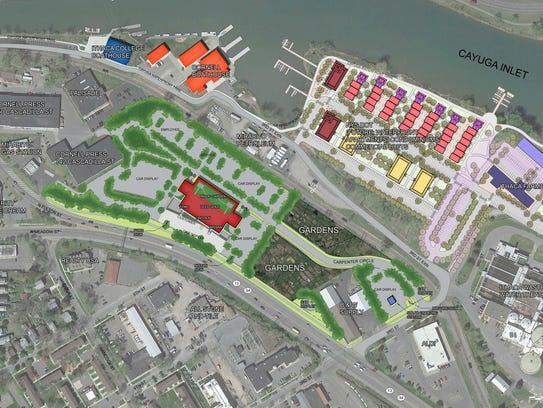 Maguire's original plan for Carpenter Business Park