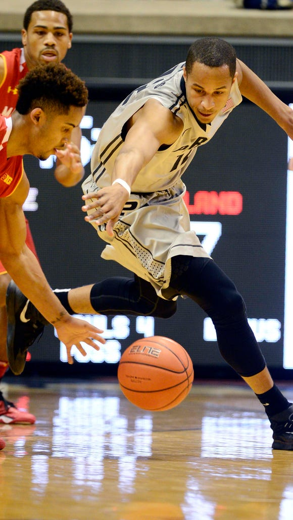 If players like freshman forward Vince Edwards (12)  continue to develop, could Purdue make a late-season surge? The next five games could set the stage.