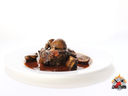 Beef Short Rib w/ Bacon Mushroom Demi Glacé by Remarkable
