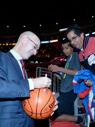 Adam Silver, commissioner of the National Basketball
