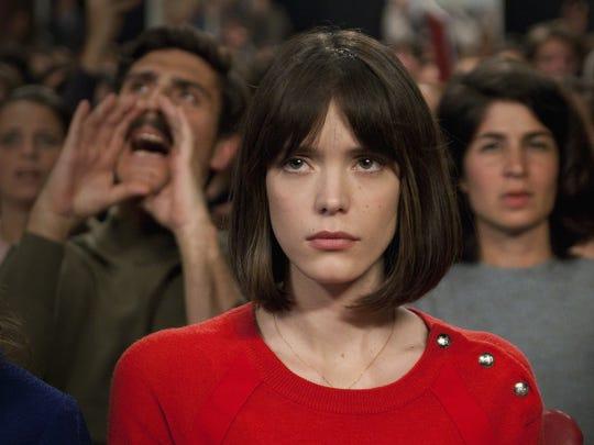 "Stacy Martin as Anne Wiazemsky in ""Godard Mon Amour."""