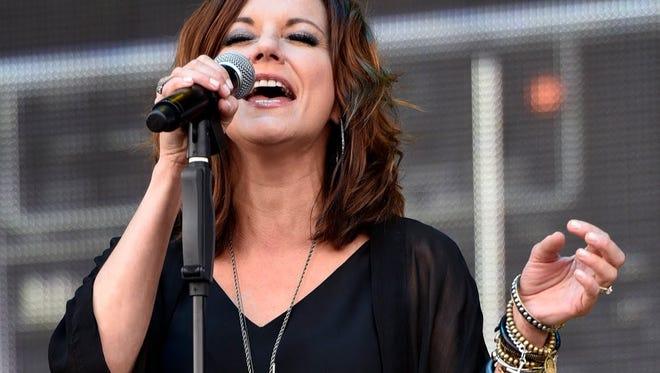 Martina McBride will perform July 27 at Hoosier Park Racing & Casino.