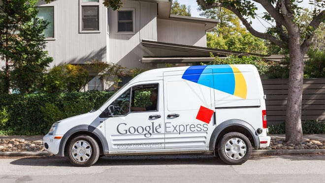 Google Express delivery launched in the Coachella Valley on Nov. 19, 2015.