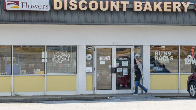 Flowers Discount Bakery Store on state 28 bypass in Anderson.