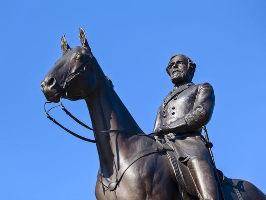 Virginia Memorial Featuring General Robert E. Lee at Gettysburg