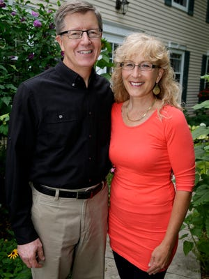 Scott Arbeiter and his wife, Jewel.