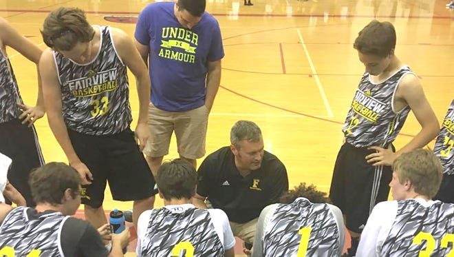 Fairview High boys basketball head coach Trey McCoy is excited to see what his young team accomplishes on the court this season.