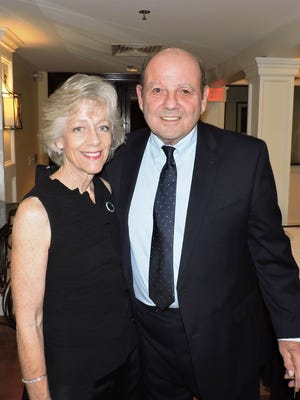 Event chair Polly Campenni and Jim Bisset agree that Catsablanca was a success!