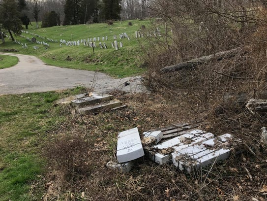 Hillcrest Cemetery photos posted by @oldcincinnati