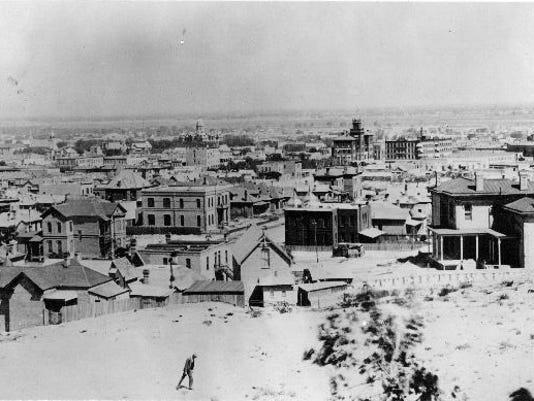 El Paso Skyline ca 1895
