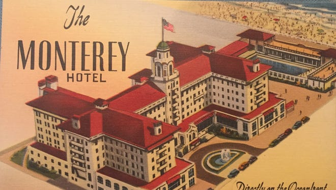 The Monterey Hotel in Asbury Park, located on the oceanfront.