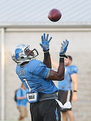 Wide receiver Quinshad Davis