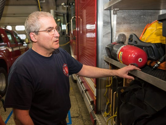 Port Huron firefighter Rick Bartley talks about some
