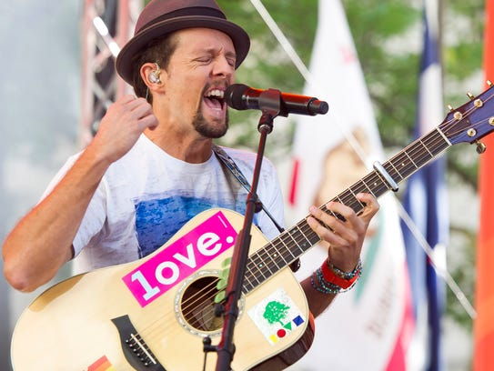 Jason Mraz will perform at The Grand in Wilmington