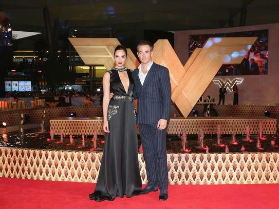 Gal Gadot and Chris Pine have taken 'Wonder Woman'