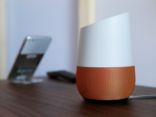 Google Home is Google's voice-activated speaker.