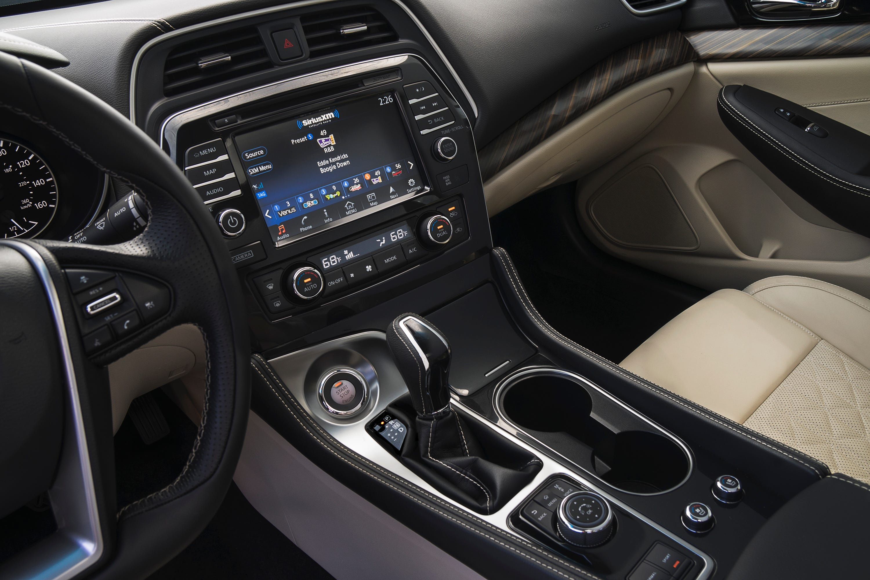The 2016 Nissan Maxima Boasts A Roomy Interior, With