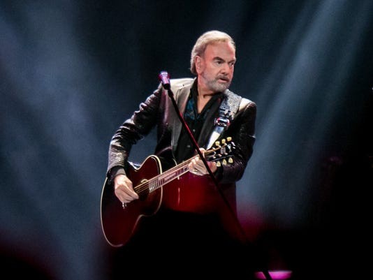 Neil Diamond at Talking Stick Resort Arena 2017