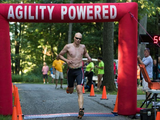 Jeff Daniels finishes first overall for the Shermanator
