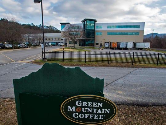 The Kuerig Green Mountain Coffee campus in Waterbury