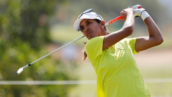 Former Purdue golfer Paula Reto, representing South