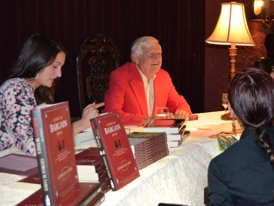 George Taber Book Signing Pic