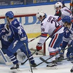 Scouts see same old Amerks in loss to Crunch