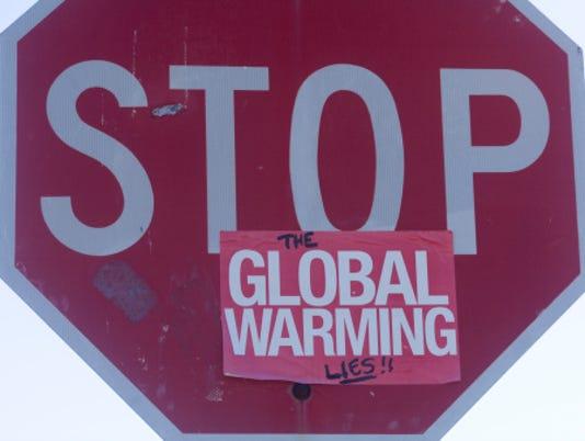 Global warming skepticism.