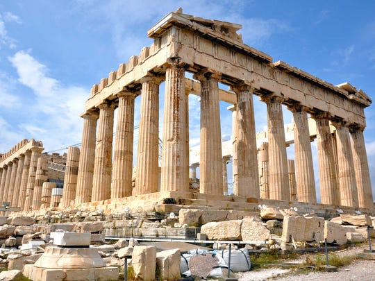 Despite Greece's economic troubles, the grandeur of