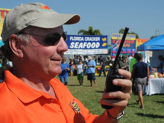 Stan Niemczyk at a previous Seafood & Music Festival. Niemczyk was named Marco Island Volunteer of the Year at the chamber of commerce gala Sunday night. Lance Shearer/Special to the Naples Daily News