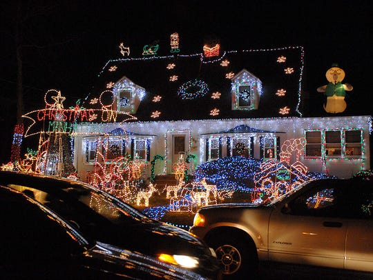 At this Waldwick home, the blinking lights were timed