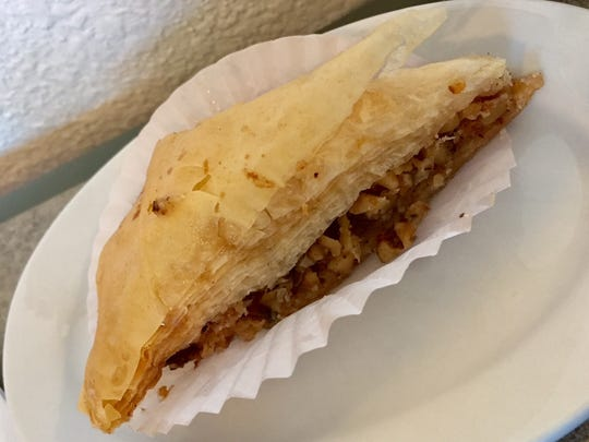 Baklava at the Greece e Spoon in Sheboygan.