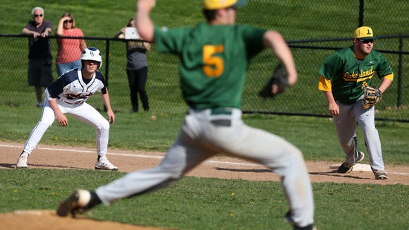 Byram Hills defeated Lakeland 8-6 in baseball action at Byram Hills High School in Armonk May 2, 2018.