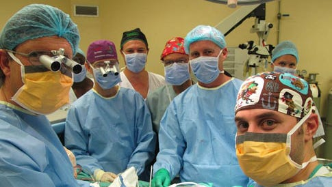 This surgical team led by Stellenbosch University's Division of Urology head Prof Andre van der Merwe, claimed to perform the world's first penis transplant in December at Tygerberg Hospital in Cape Town, South Africa.